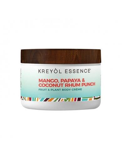 Crème fouettée pour le corps- Mangue, Papaye et Coco-by ayizana - haiti