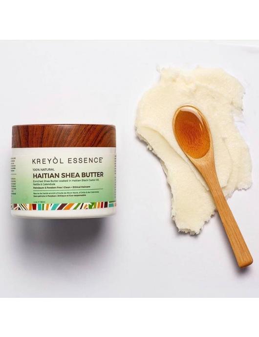 Beurre de Karité enrichi à l'huile de ricin noire d'Haïti-by ayizana - haiti