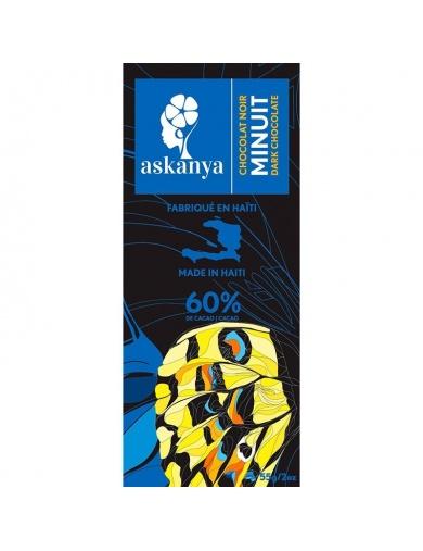 Tablette de chocolat noir Minuit- Made in Haiti-by ayizana - haiti