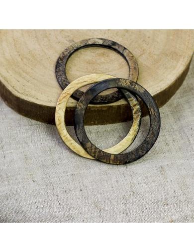 Bracelets joncs en corne - Handmade in Haiti-by ayizana - haiti