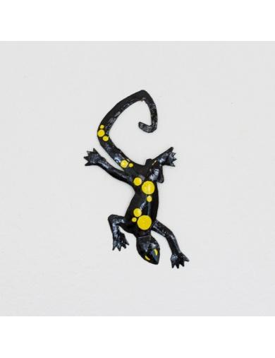 Salamandre en fer découpé Handmade in Haiti-by ayizana - haiti