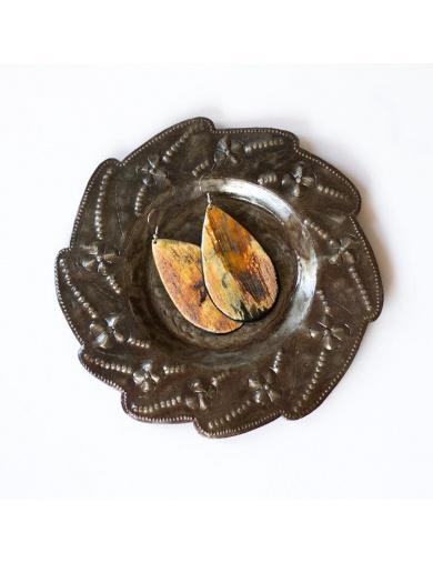 Coupelle en fer découpé- artisanat d'Haïti-by ayizana - haiti