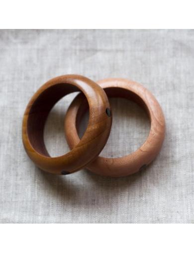 Bracelet en bois d'acajou TIFANE - Made in Haiti-by ayizana - haiti