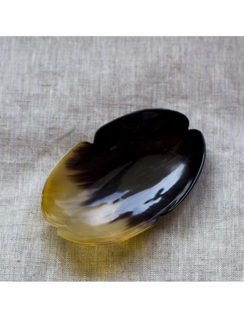 Coupelle en corne ovale- artisanat d'Haïti-by ayizana - haiti